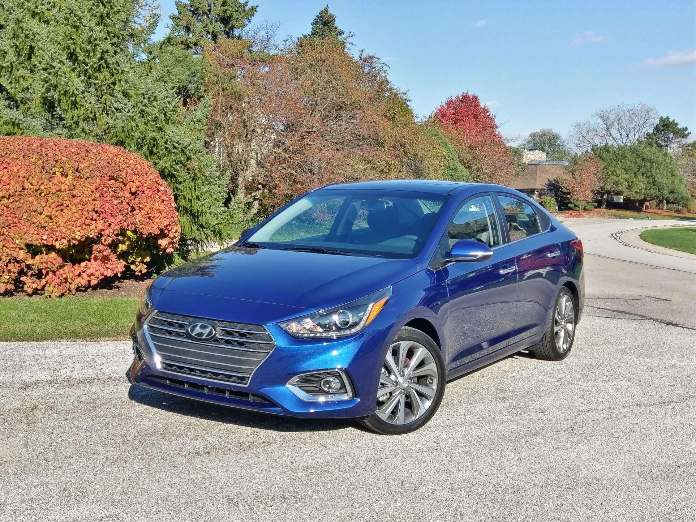 2018 Hyundai Accent Limited Roadblazing Dhs Budget Small Sedan Review Roadblazing