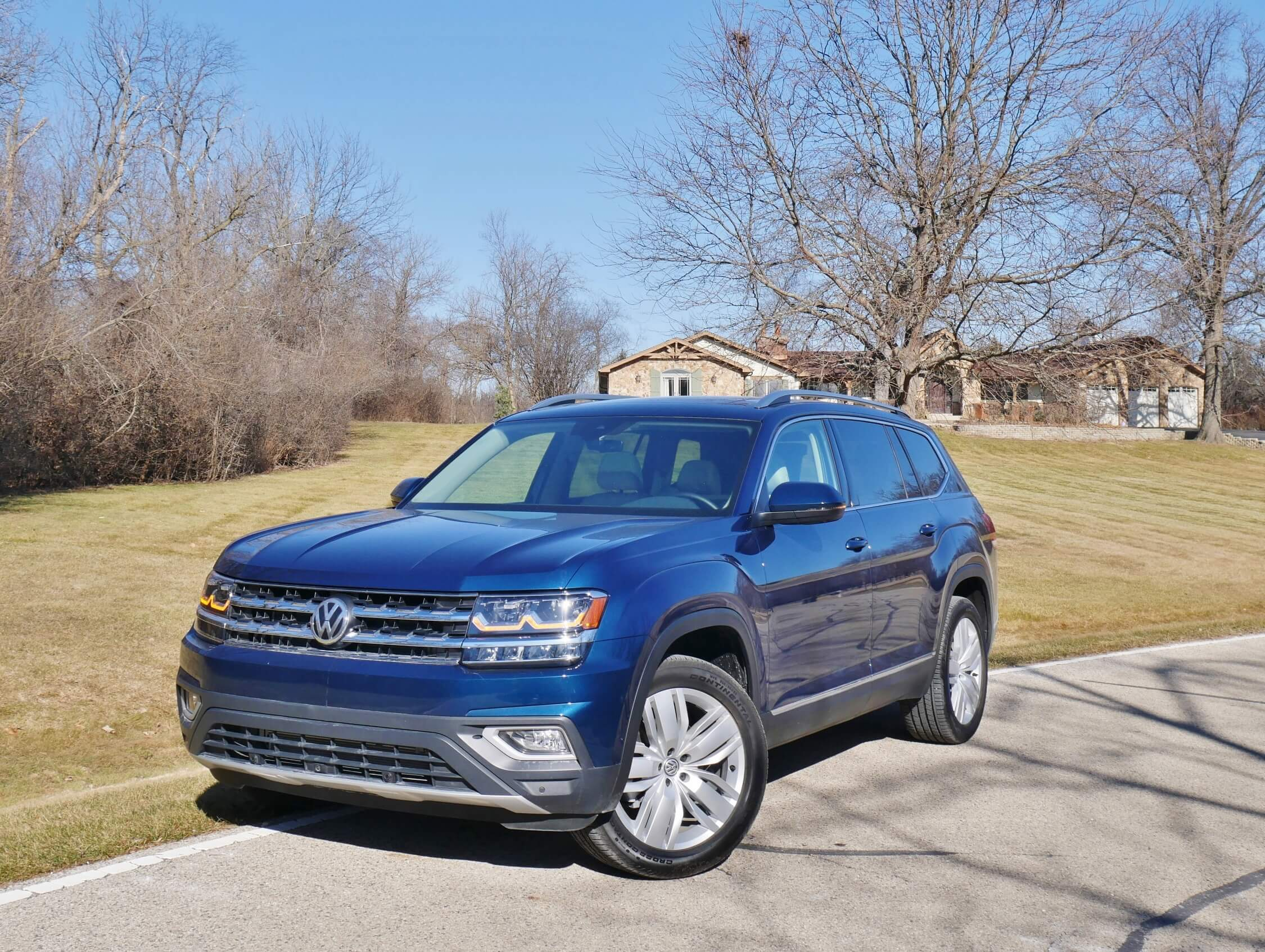2018 Volkswagen Atlas Sel Premium 3 6 4motion Bottom Line Review Roadblazing