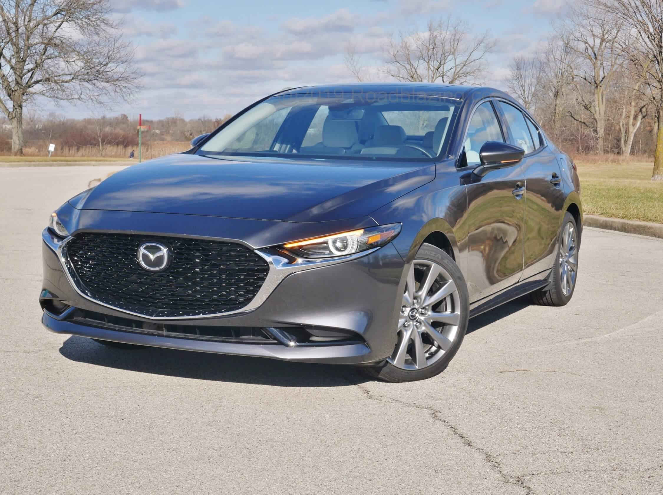 2020 Mazda 3 Sedan AWD - Bottom Line Review   RoadBlazing