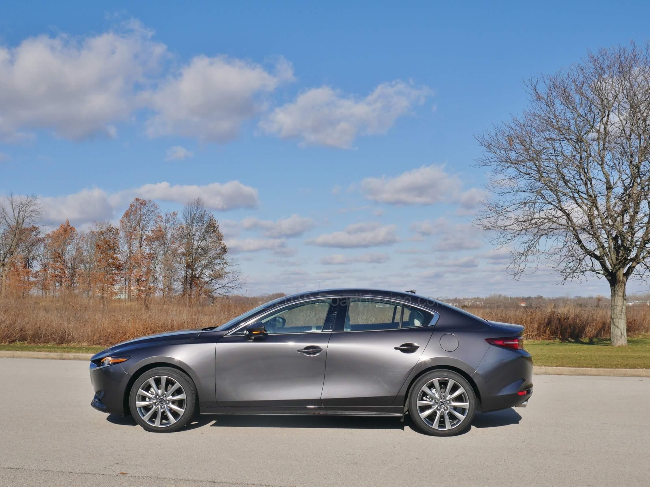 2020 Mazda 3 Sedan AWD - Bottom Line Review | RoadBlazing